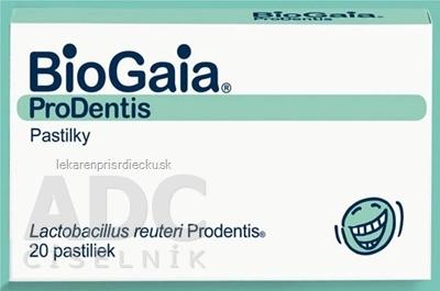 BioGaia ProDentis pastilky, mentolová príchuť 2x10 ks (20 ks)