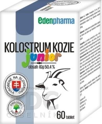 EDENPharma KOLOSTRUM KOZIE Junior tbl 1x60 ks