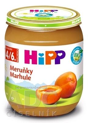 HiPP Príkrm BIO Marhule (od ukonč. 4./6. mesiaca) 1x125 g