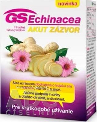 GS Echinacea AKUT ZÁZVOR tbl 1x15 ks