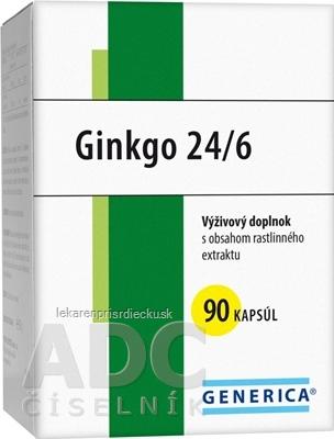 GENERICA Ginkgo 24/6 cps 40 mg 1x90 ks
