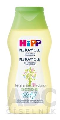 HiPP BabySANFT Pleťový olej sensitive 1x200 ml