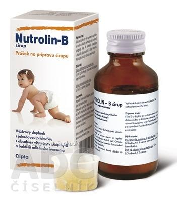 Nutrolin-B sirup 1x60 ml