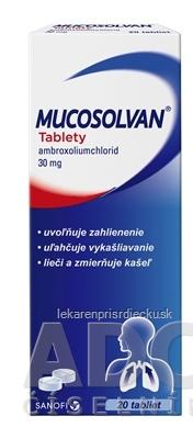 Mucosolvan tablety tbl 30 mg 1x20 ks