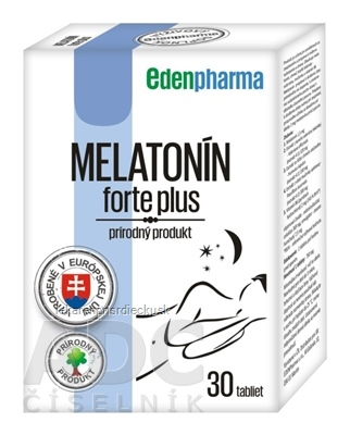 EDENPharma MELATONÍN forte plus tbl 1x30 ks