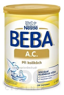 BEBA A.C. plv (dietetická potravina od narodenia) 1x800 g