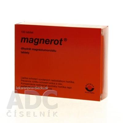 MAGNEROT tbl (blister PVC/PVDC/Al) 1x100 ks