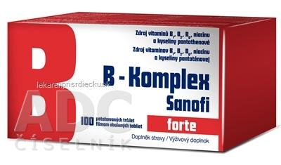 B-Komplex forte Sanofi tbl flm 1x100 ks