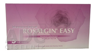 ROSALGIN EASY sol vag 140 ml 1x5 fľ. s aplik. (5x140 ml)