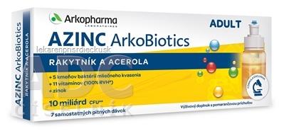 AZINC ArkoBiotics ADULT samostatné pitné dávky 7x10 ml (70 ml)