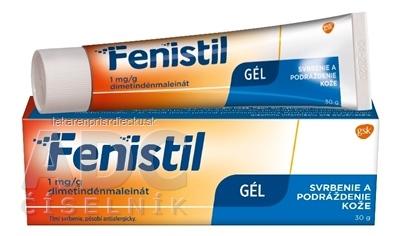 Fenistil 1 mg/g gél gel der (tuba Al) 1x30 g