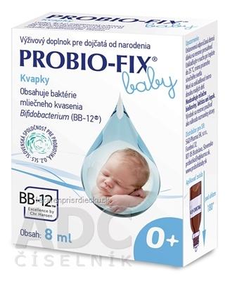 PROBIO-FIX baby kvapky 1x8 ml