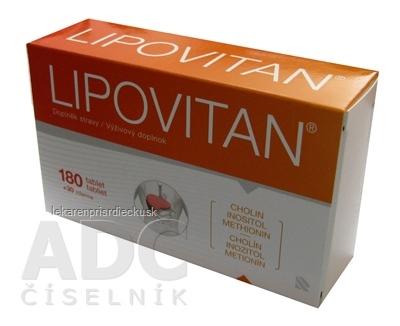 LIPOVITAN tbl 180+30 zdarma (210 ks)