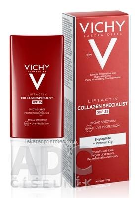VICHY LIFTACTIV COLLAGEN SPECIALIST SPF 25 denný krém proti vráskam 1x50 ml
