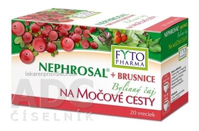 FYTO NEPHROSAL + BRUSNICE na močové cesty bylinný čaj 20x1,5 g (30 g)