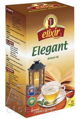 AGROKARPATY elixír ELEGANT bylinný čaj, balené vrecúška, 20x1,5g (30 g)