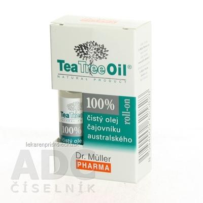 Dr. Müller Tea Tree Oil 100% čistý ROLL-ON olej 1x4 ml