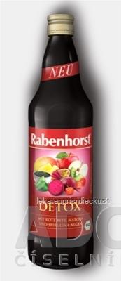 Rabenhorst DETOX šťava 1x750 ml