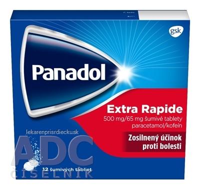 Panadol Extra Rapide tbl eff 500 mg/65 mg 1x12 ks