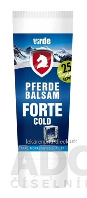 VIRDE PFERDE BALSAM FORTE COLD 1x200 ml