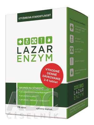 LazarEnzym tbl 1x75 ks