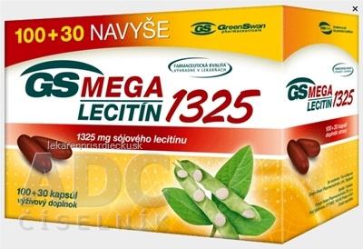 GS MegaLecitín 1325 cps 100+30 navyše (130 ks)