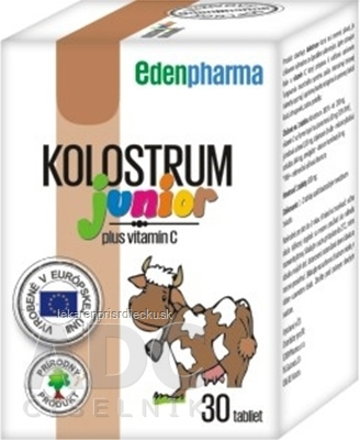 EDENPharma KOLOSTRUM JUNIOR tbl (500 mg) 1x30 ks
