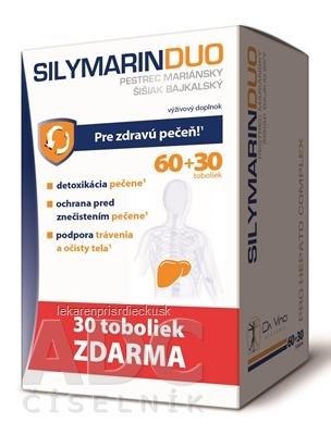 SILYMARIN DUO - DA VINCI cps 60+30 zadarmo (90 ks)
