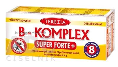 TEREZIA B-KOMPLEX SUPER FORTE+ tbl 1x20 ks