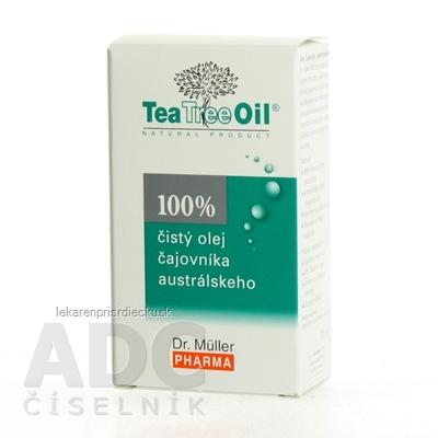 Dr. Müller Tea Tree Oil 100% čistý olej 1x30 ml