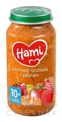 Hami príkrm Zeleninové ratatouille s kuraťom (od ukonč. 10. mesiaca) 1x250 g