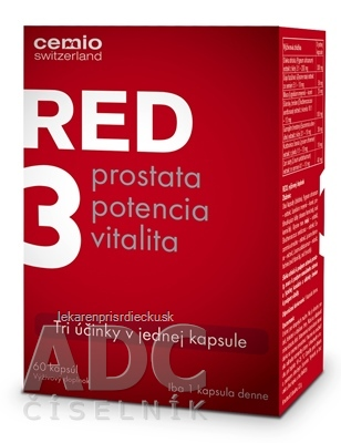 Cemio RED3 cps 1x60 ks