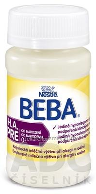 BEBA H.A. PRE počiatočná výživa dojčiat (od narodenia) 1x90 ml