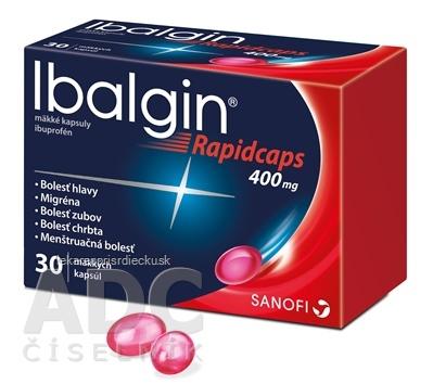 Ibalgin Rapidcaps 400 mg cps mol (blis.PVC/PVDC/Al) 1x30 ks
