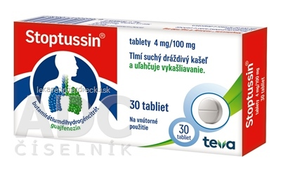 STOPTUSSIN  tablety tbl (blis.Al/PVC) 1x30 ks