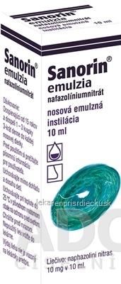 Sanorin emulzia int nae (fľ.skl.hnedá) 1x10 ml