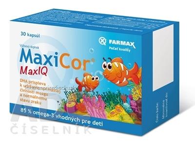 FARMAX MaxiCor Max IQ cps 1x30 ks