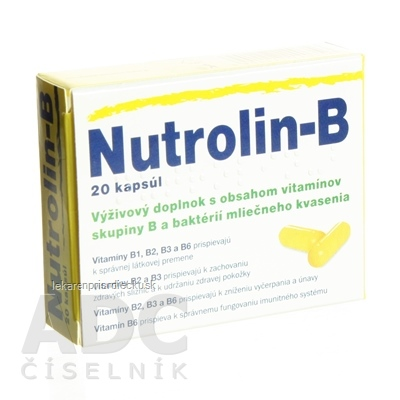 Nutrolin-B cps 1x20 ks