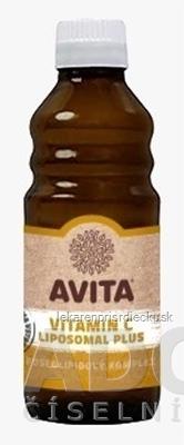 AVITA VITAMIN C LIPOSOMAL Plus roztok, fosfolipidový komplex (inov. 2020-04) 1x250 ml