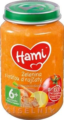 Hami príkrm Zelenina s morkou a paradajkami (od ukonč. 6. mesiaca) 1x200 g