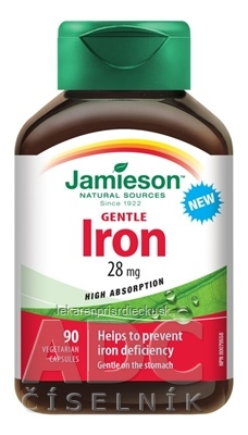 JAMIESON GENTLE IRON KOMPLEX cps 1x90 ks
