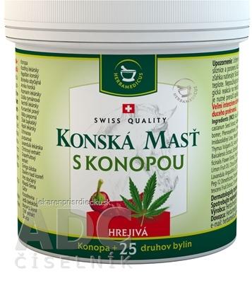 KONSKÁ MASŤ S KONOPOU HREJIVÁ 1x250 ml
