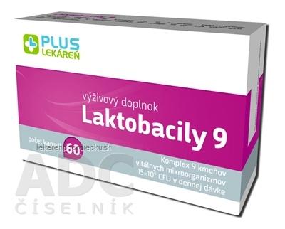 PLUS LEKÁREŇ Laktobacily 9 cps 1x60 ks