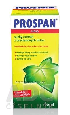 PROSPAN sir (fľ.skl.hnedá) 1x100 ml