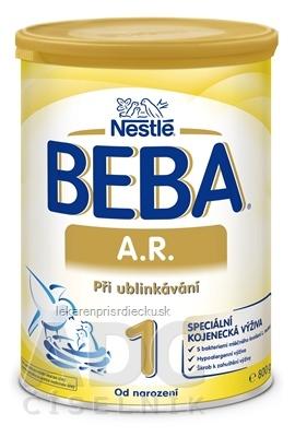 BEBA A.R. 1 plv (dietetická potravina od narodenia) 1x800 g