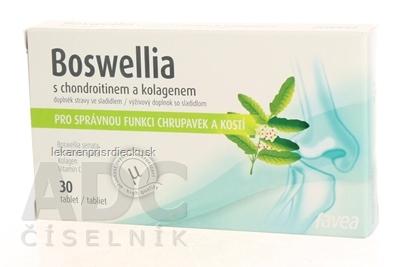 BOSWELLIA s chondroitínom a kolagénom tbl 1x30 ks