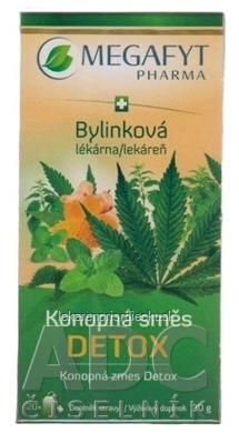 MEGAFYT Bylinková lekáreň Konopná zmes DETOX bylinná zmes 20x1,5 g (30 g)