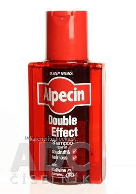 ALPECIN Hair Energizer Double Effect šampón proti lupinám a vypadávaniu vlasov 1x200 ml
