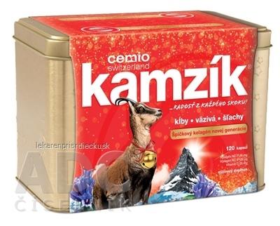 Cemio Kamzík darček 2019 cps (zlatá dóza) 1x120 ks