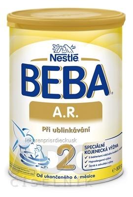 BEBA A.R. 2 plv (dietetická potravina od ukonč. 6. mesiaca) 1x800 g